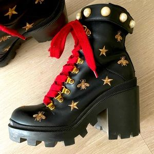 Gucci trip ankle boots